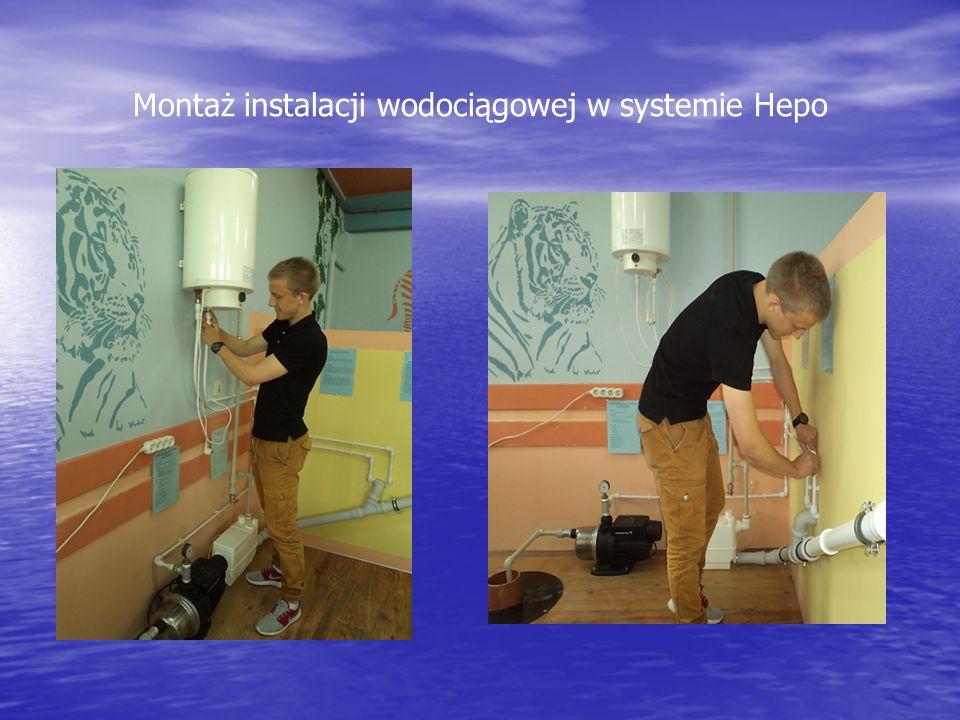 Montaż instalacji wodociągowej w systemie Hepo