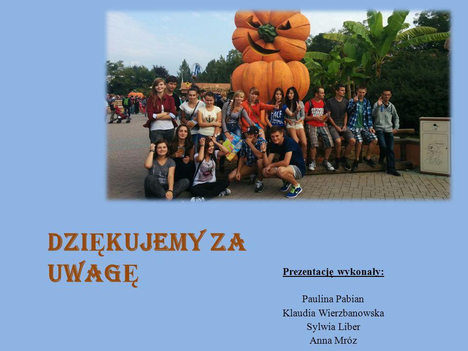 Prezentację wykonały: Paulina Pabian Klaudia Wierzbanowska Sylwia Liber Anna Mróz DZI Ę KUJEMY ZA UWAG Ę