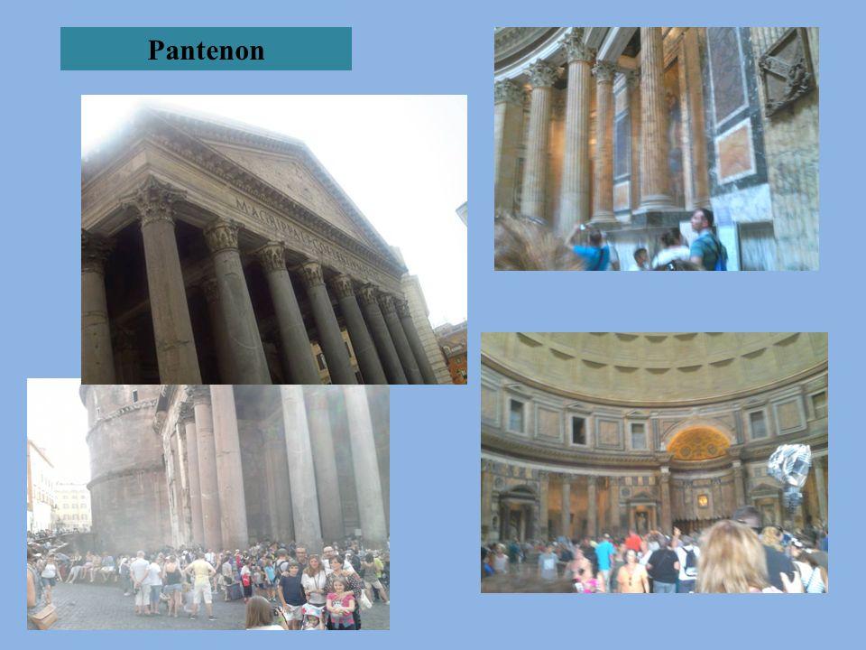Mieliśmy okazję podziwiać wiele budowli architektonicznych charakterystycznych dla antycznego Rzymu