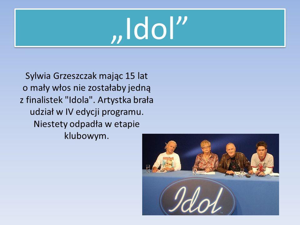 Sylwia Grzeszczak mając 15 lat o mały włos nie zostałaby jedną z finalistek Idola .