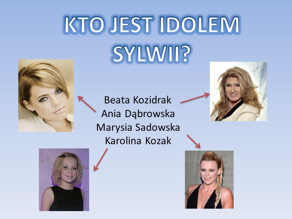 Beata Kozidrak Ania Dąbrowska Marysia Sadowska Karolina Kozak