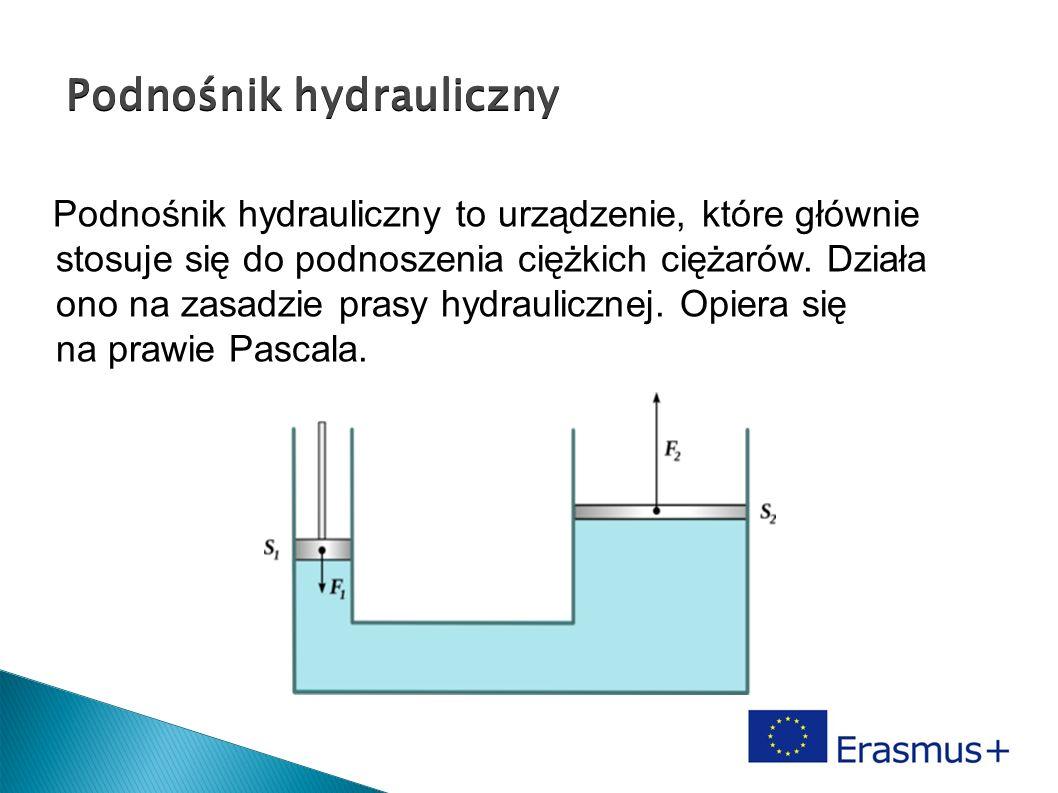 Podnośnik hydrauliczny Podnośnik hydrauliczny Podnośnik hydrauliczny to urządzenie, które głównie stosuje się do podnoszenia ciężkich ciężarów. Działa