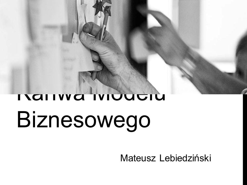 Mateusz Lebiedziński Kanwa Modelu Biznesowego