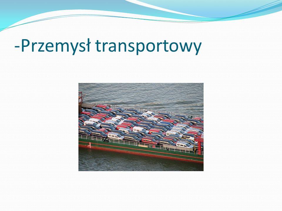 -Przemysł transportowy