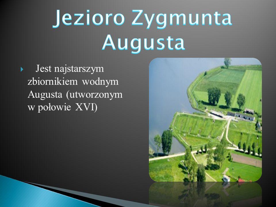  Jest najstarszym zbiornikiem wodnym Augusta (utworzonym w połowie XVI)