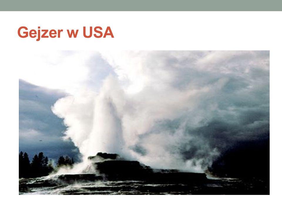 Gejzer w USA