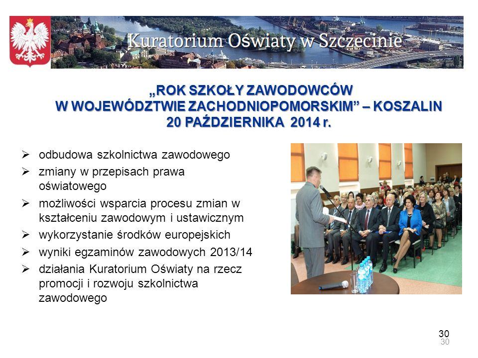 Wizyta Ministra Edukacji Narodowej w Koszalinie.