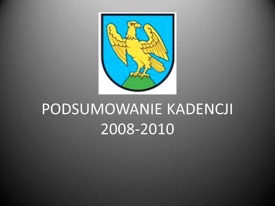 PODSUMOWANIE KADENCJI 2008-2010