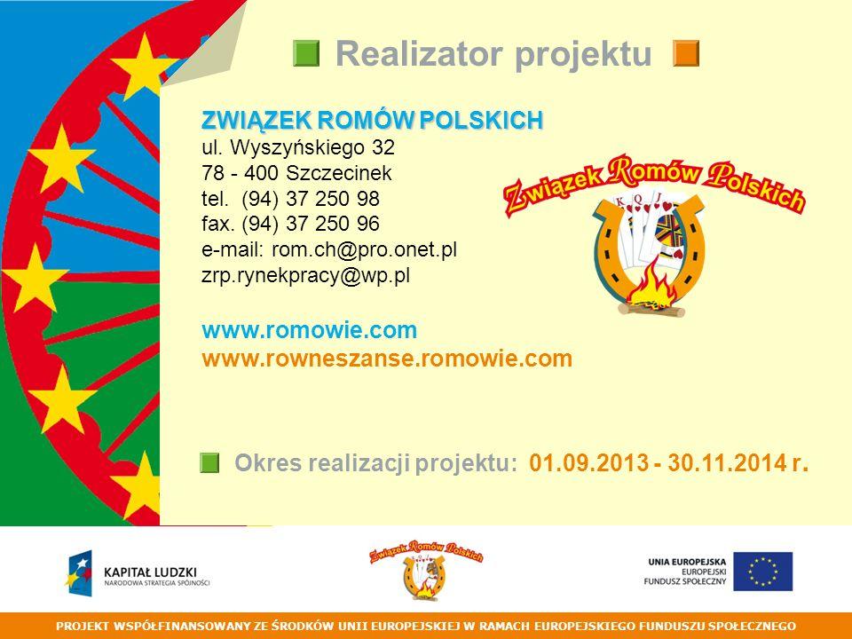 ZWIĄZEK ROMÓW POLSKICH ul. Wyszyńskiego 32 78 - 400 Szczecinek tel.