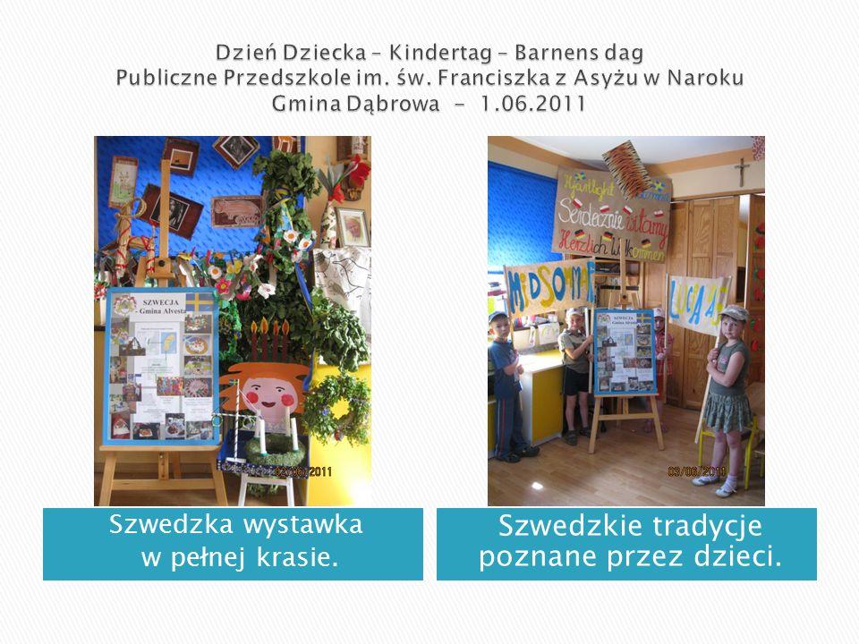 Szwedzka wystawka w pełnej krasie. Szwedzkie tradycje poznane przez dzieci.