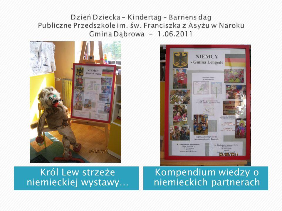 Król Lew strzeże niemieckiej wystawy… Kompendium wiedzy o niemieckich partnerach