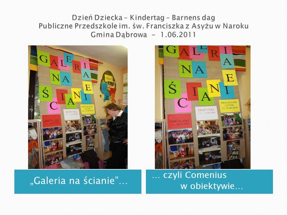"""""""Galeria na ścianie … … czyli Comenius w obiektywie…"""