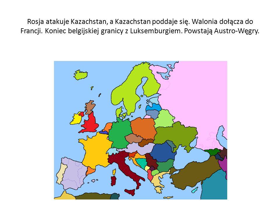 Flandria łączy się z Holandią. Litwa atakuje Łotwę i Estonię.