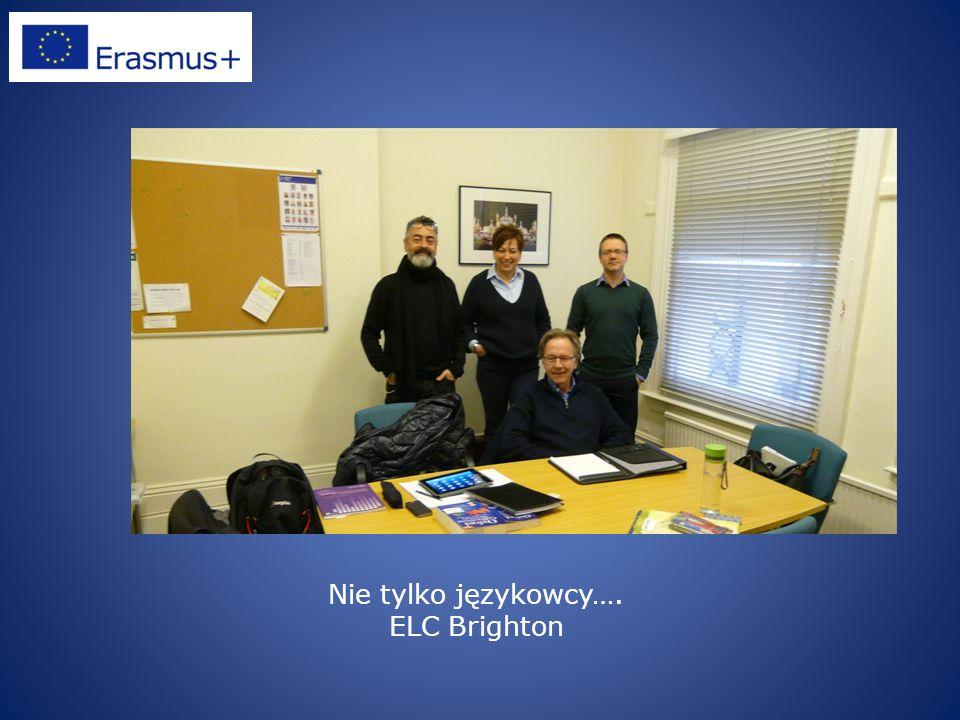 Nie tylko językowcy…. ELC Brighton