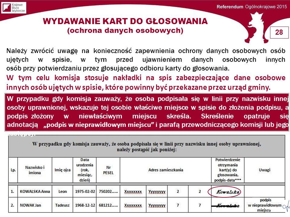  Nawniosek głosującego komisjajestobowiązana wyjaśni ć musposóbgłosowaniawreferendumorazwarunkiważności z informacj ą umieszczonąna karcie głosu,zgodnie do głosowania.