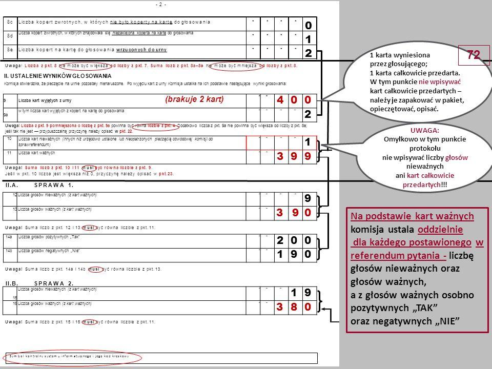- 3 -- 3 - *** 2 92 9 Uwaga.Suma liczb z pkt. 17a i 17b musi być równa liczbie z pkt.
