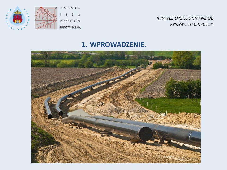II PANEL DYSKUSYJNY MIIOB Kraków, 10.03.2015r. 1.WPROWADZENIE.