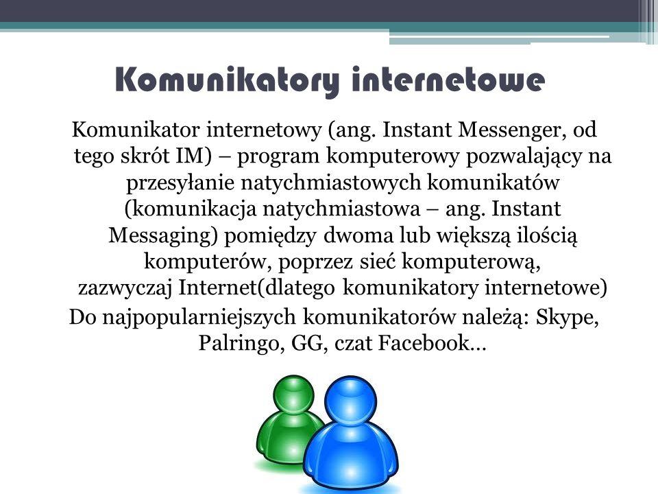 Znane w Polsce portale społecznościowe