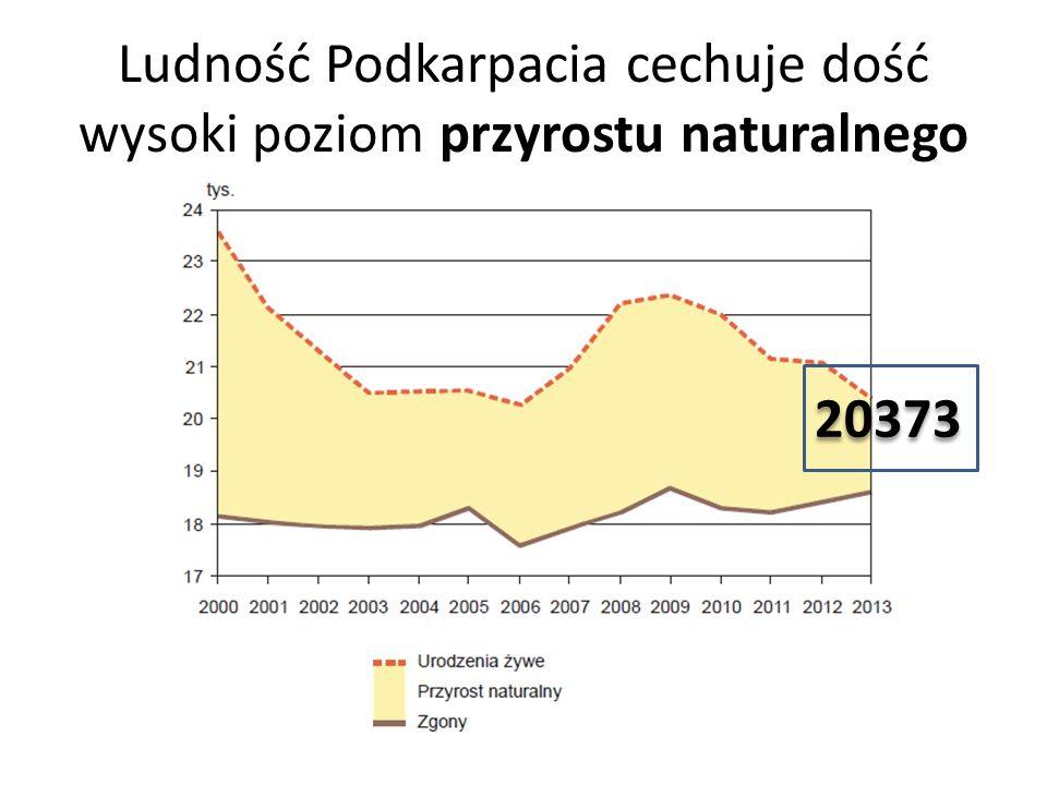 Ludność Podkarpacia cechuje dość wysoki poziom przyrostu naturalnego 20373