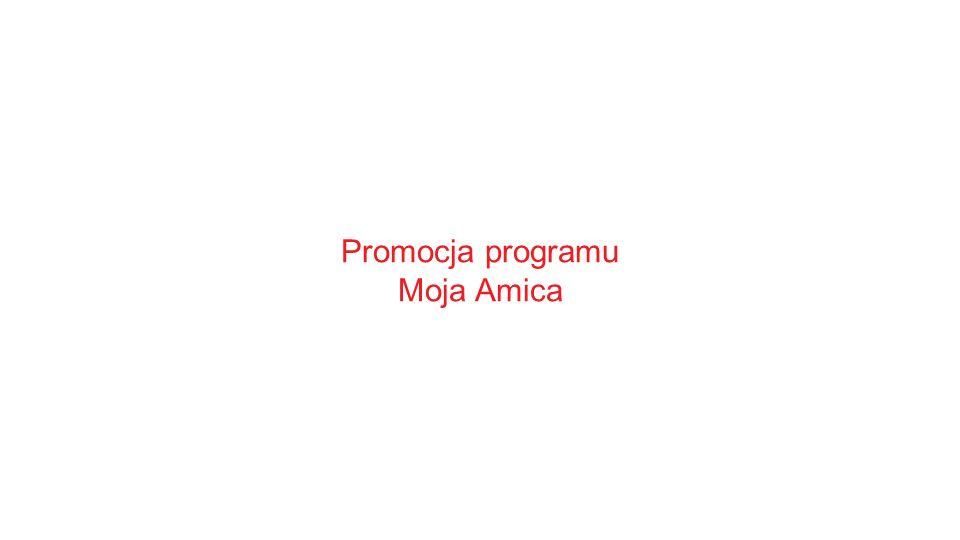 Promocja programu Moja Amica