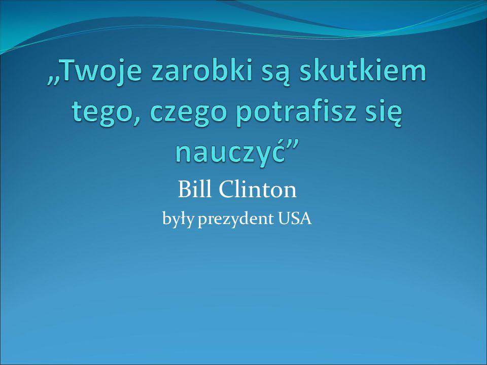 Bill Clinton były prezydent USA