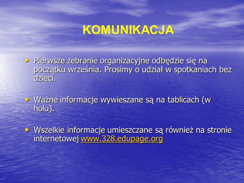 Pierwsze zebranie organizacyjne odbędzie się na początku września.