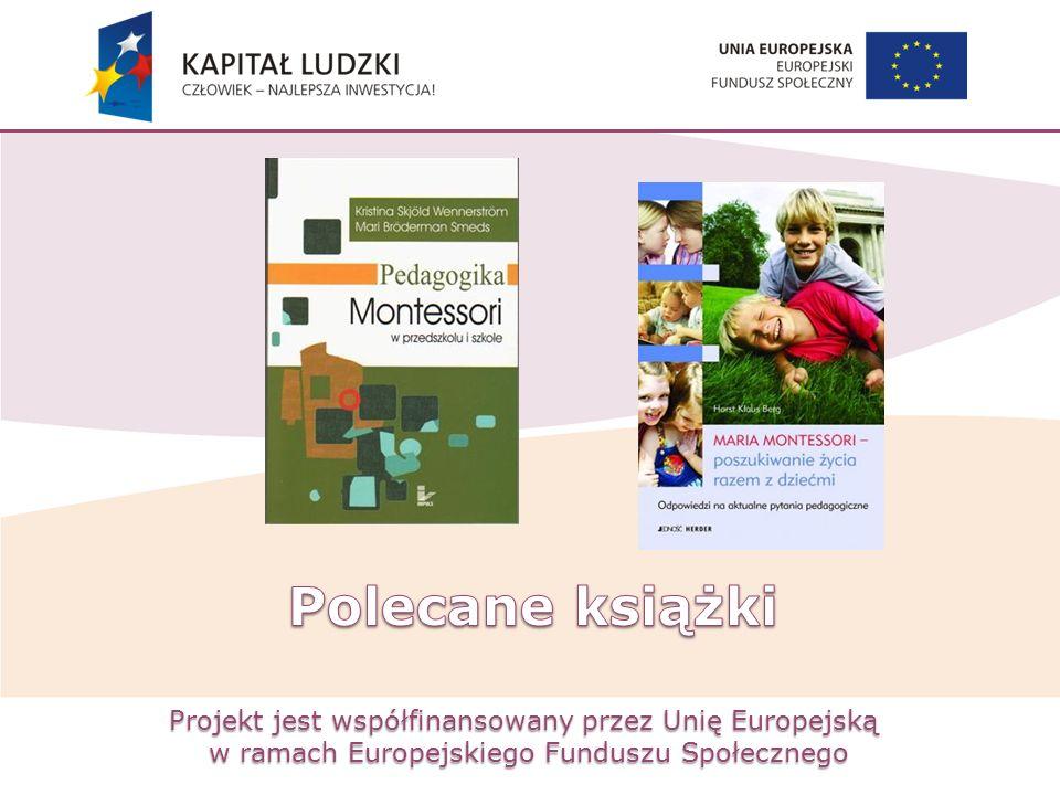 Projekt jest współfinansowany przez Unię Europejską w ramach Europejskiego Funduszu Społecznego