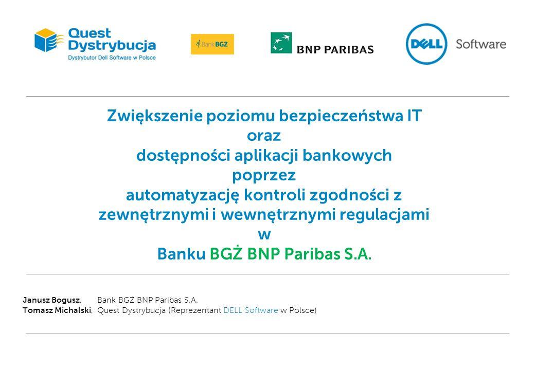Bank BGŻ BNP Paribas S.A.Uniwersalny bank komercyjny - od lat w czołówce banków w Polsce.