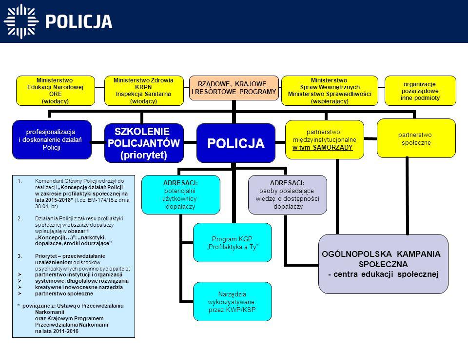 Struktura działania w obszarze tzw.