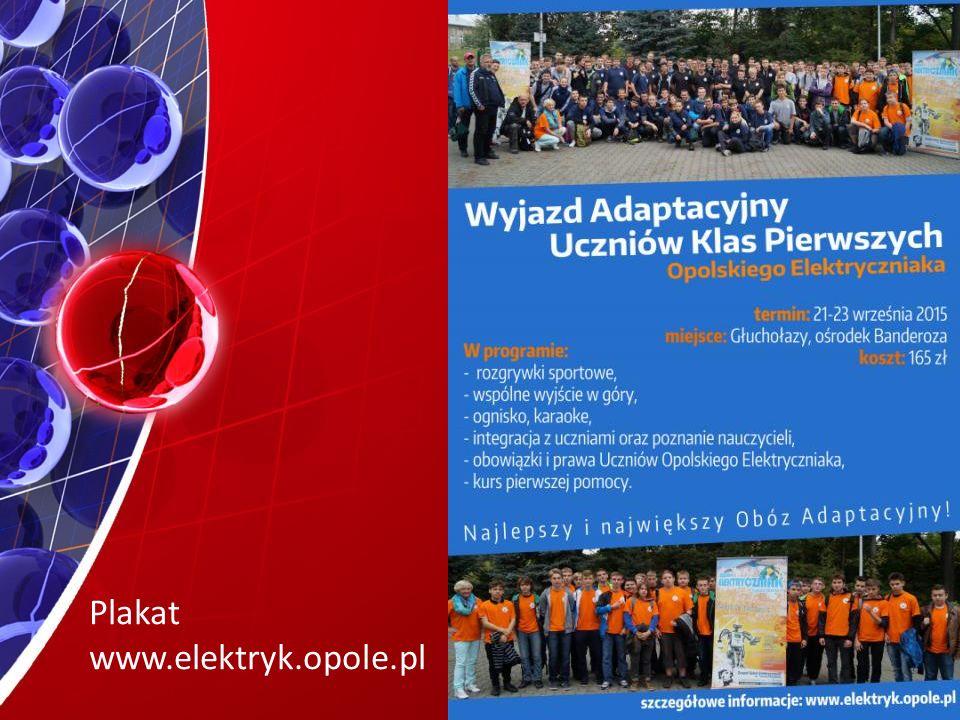 Plakat www.elektryk.opole.pl
