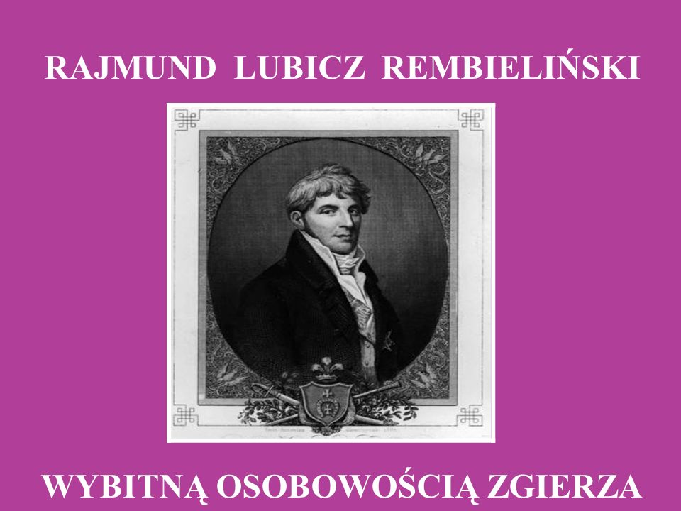 Urodził się w Warszawie w 1775 r.