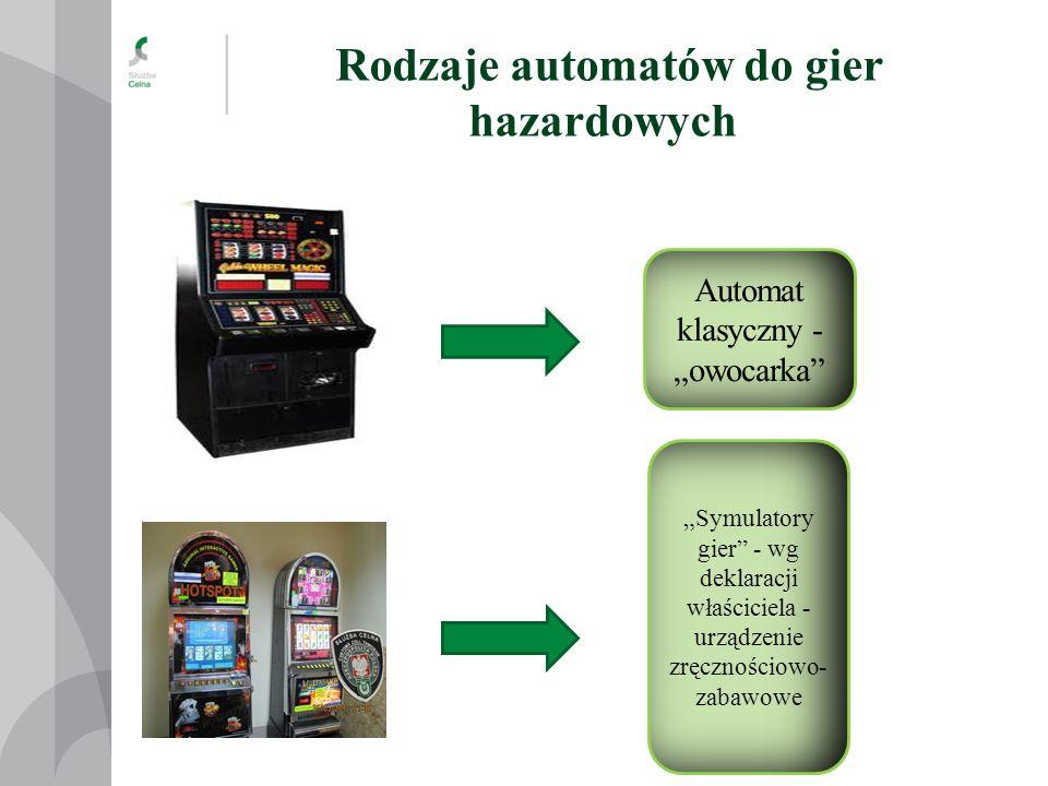 Wielofunkcyjny terminal internetowy jako automat do gier Rodzaje automatów do gier hazardowych 1.