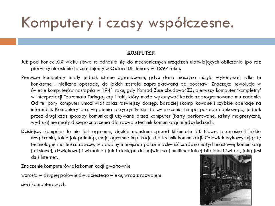 Telewizja Pierwsze eksperymenty z przesyłaniem obrazów na odległość są niewiele późniejsze od wynalazku radia – już w 1884 Paul Gottlieb Nipkow opatentował pierwszy system elektromechanicznego przesyłania obrazu.