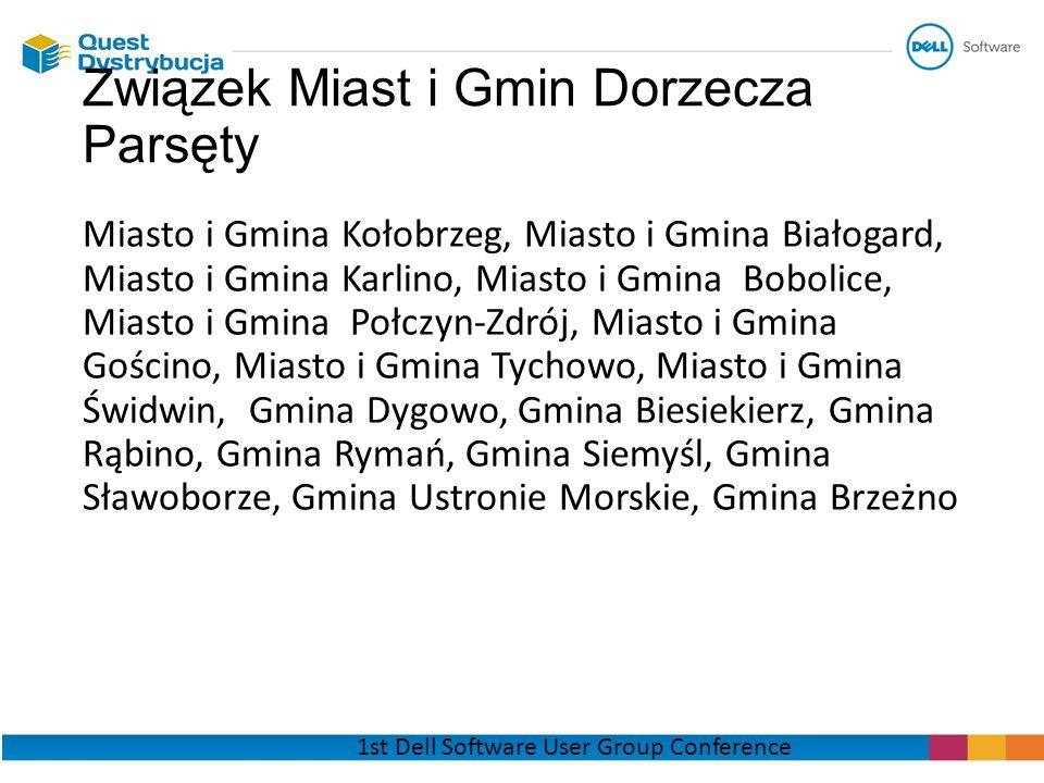 Miasto i Gmina Kołobrzeg, Miasto i Gmina Białogard, Miasto i Gmina Karlino, Miasto i Gmina Bobolice, Miasto i Gmina Połczyn-Zdrój, Miasto i Gmina Gośc