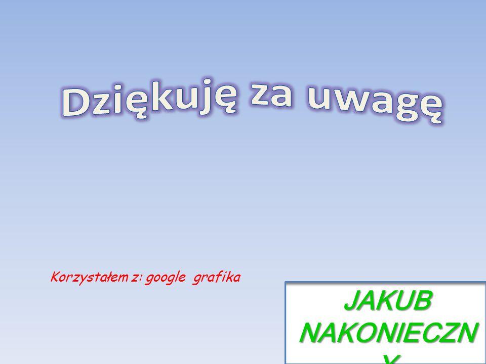 JAKUB NAKONIECZN Y Korzystałem z: google grafika