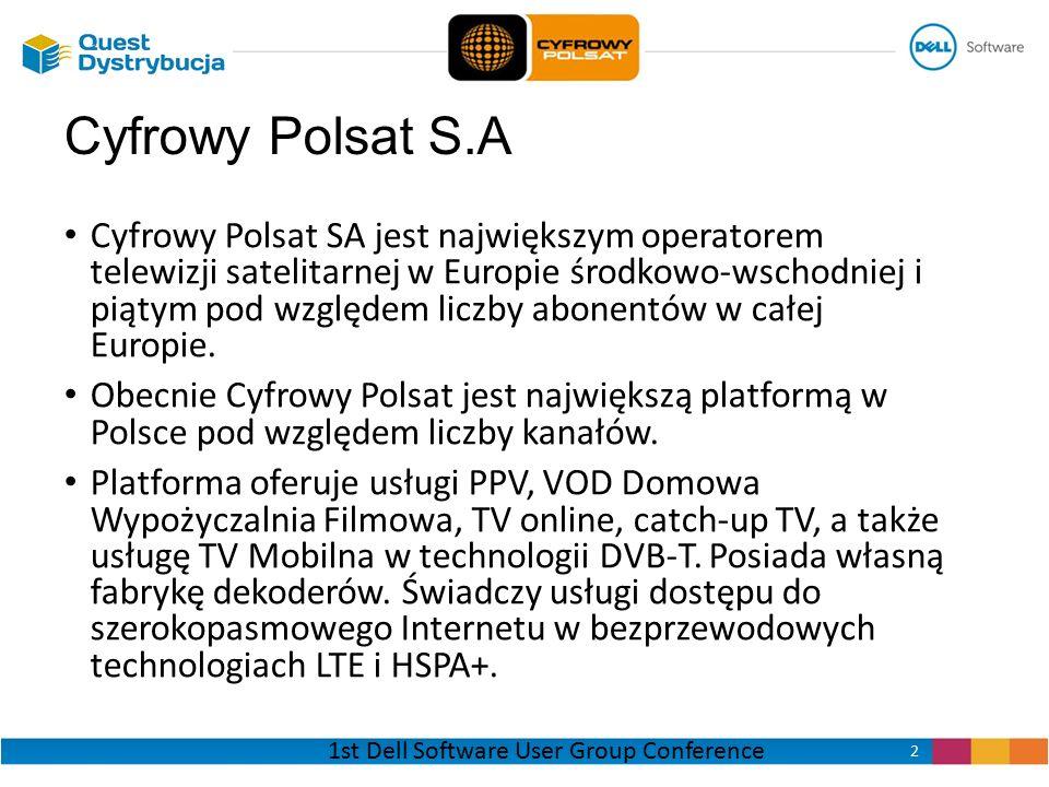 Cyfrowy Polsat SA jest największym operatorem telewizji satelitarnej w Europie środkowo-wschodniej i piątym pod względem liczby abonentów w całej Euro