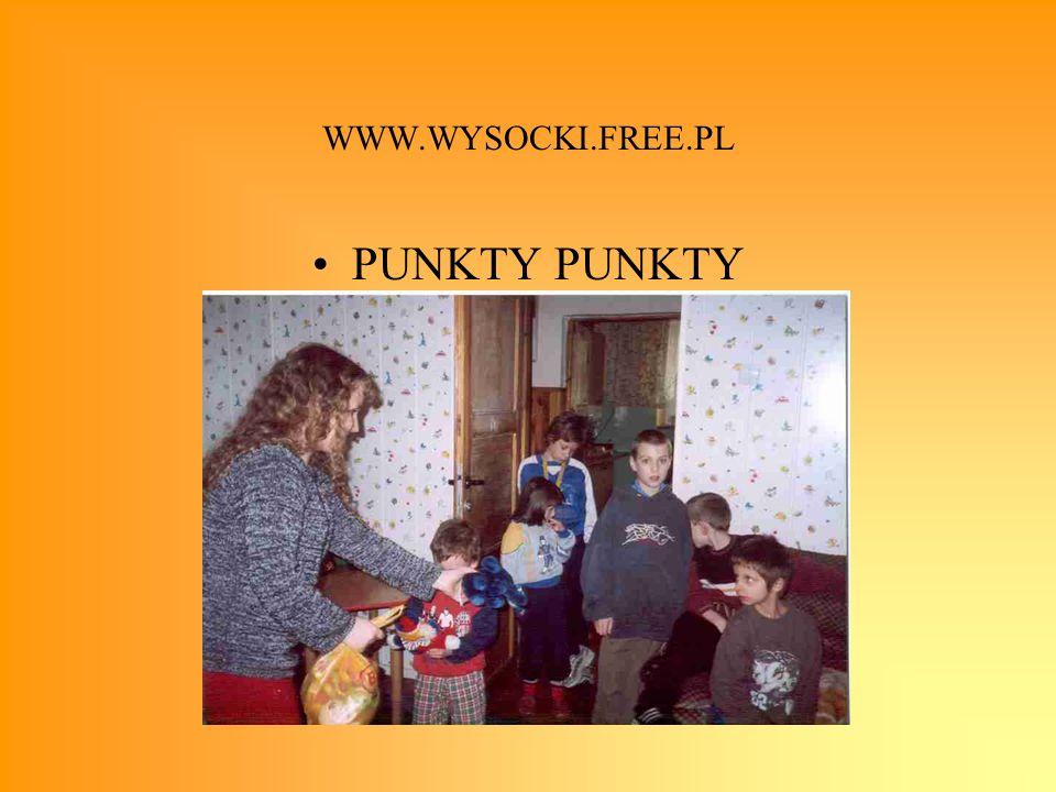 WWW.WYSOCKI.FREE.PL PUNKTY