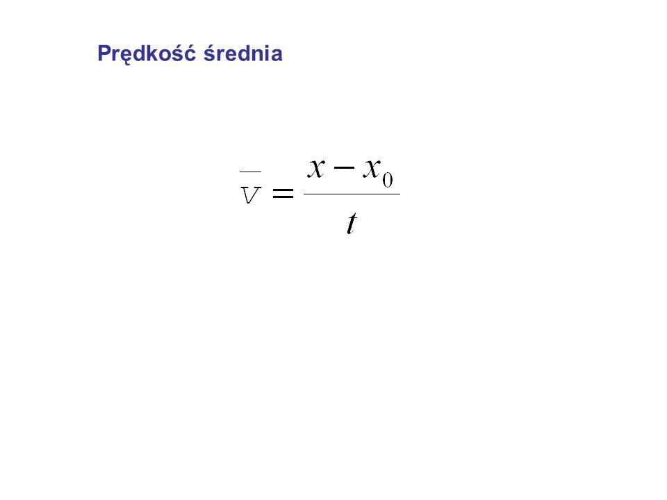 ponieważ a x = 0 więc: v x = v o cos , czyli w kierunku x ruch jest jednostajny (składowa x prędkości jest stała).