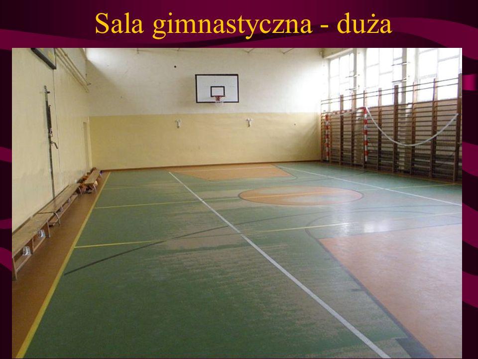 Sala gimnastyczna - duża