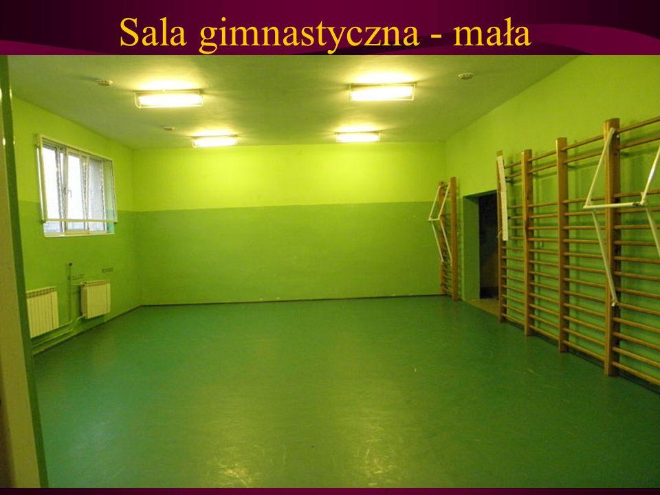 Sala gimnastyczna - mała