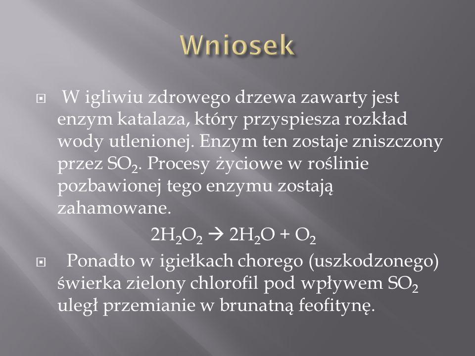  Szkło laboratoryjne: probówka, szpatułka  Odczynniki: azotan(V) ołowiu(II)  Próbka: białko jaja kurzego Wykonane w celu sprawdzenia wpływu soli ołowiu na białko kurze.