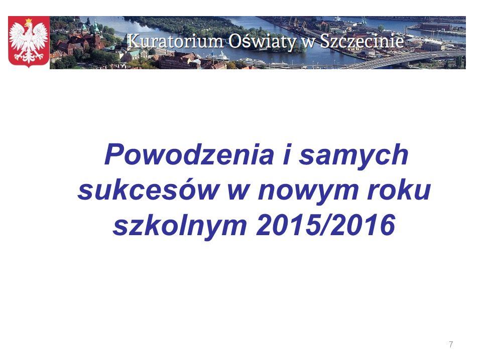 7 Powodzenia i samych sukcesów w nowym roku szkolnym 2015/2016