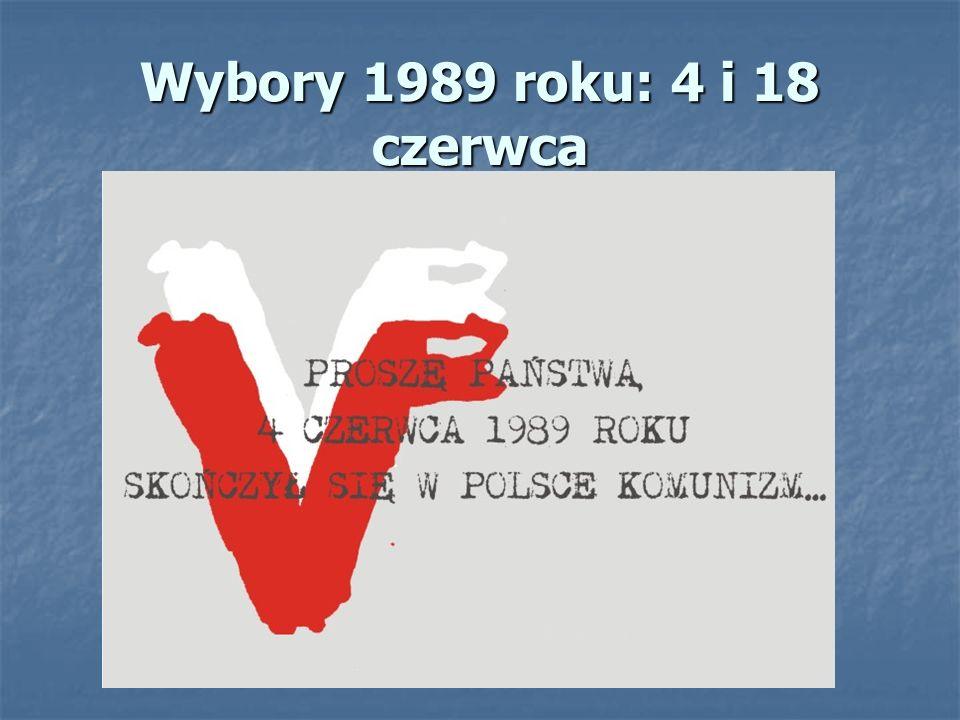 Wybory 1989 roku: 4 i 18 czerwca
