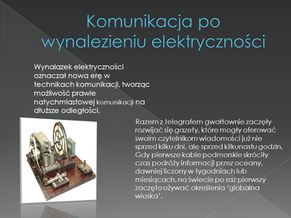 Antonio Meucci skonstruował pierwszy telefon w 1848.