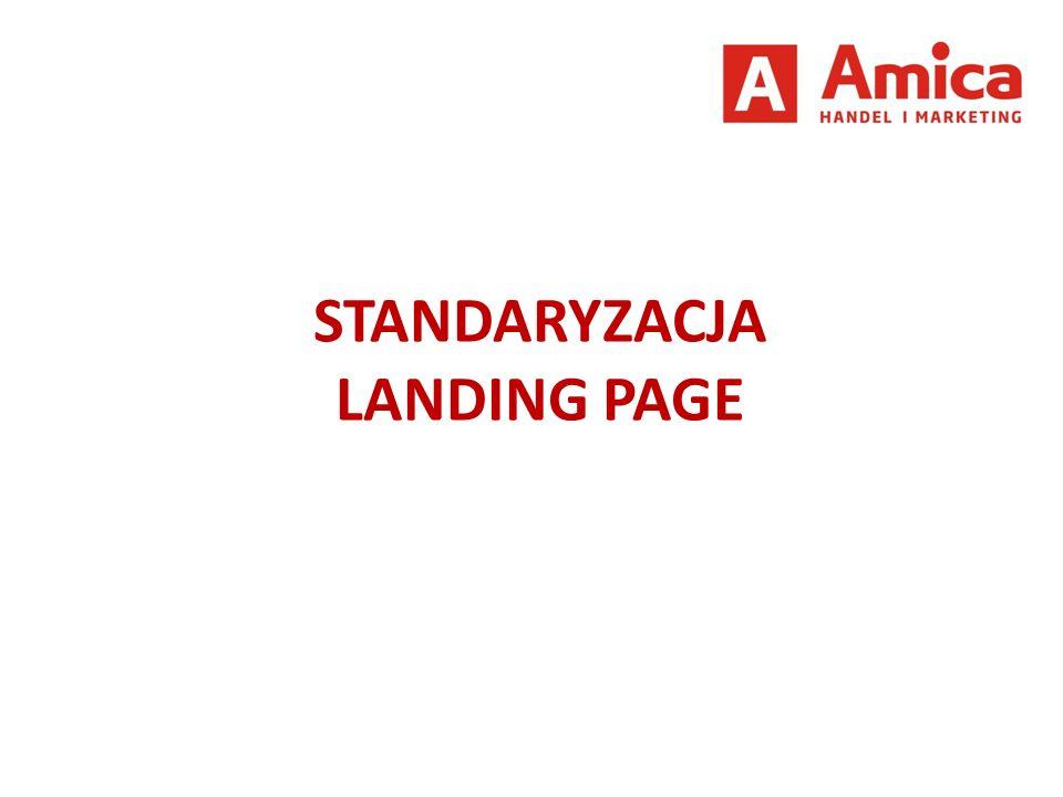 STANDARYZACJA LANDING PAGE