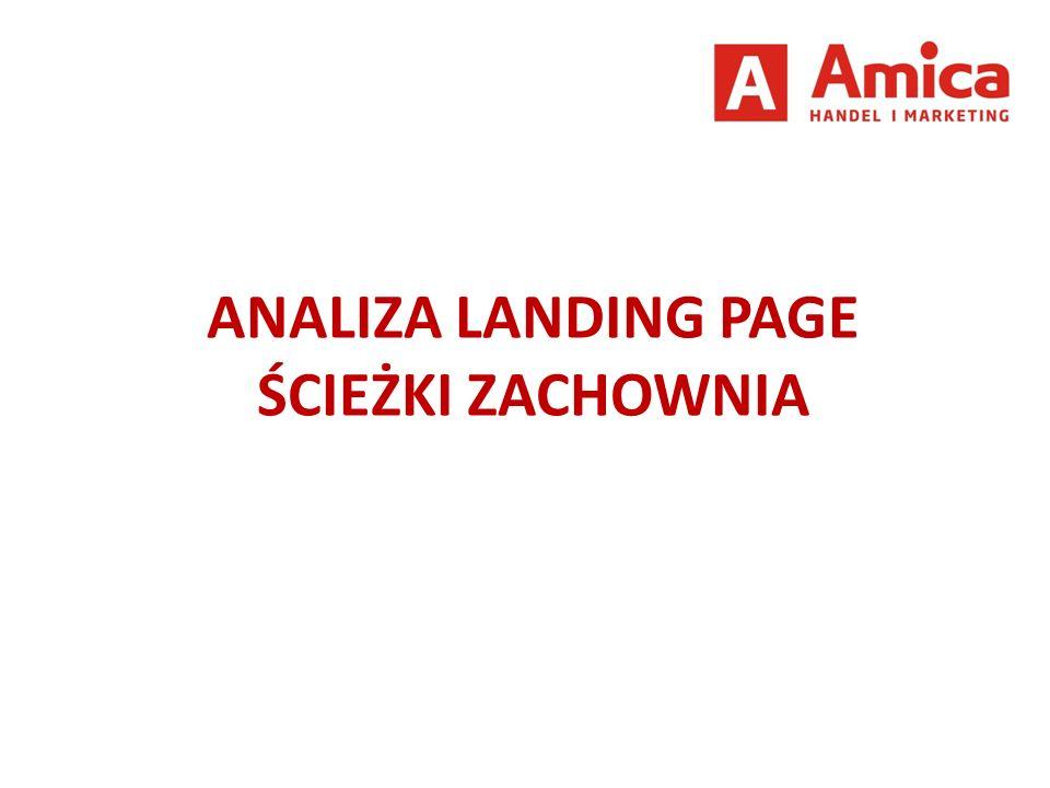 ANALIZA LANDING PAGE ŚCIEŻKI ZACHOWNIA