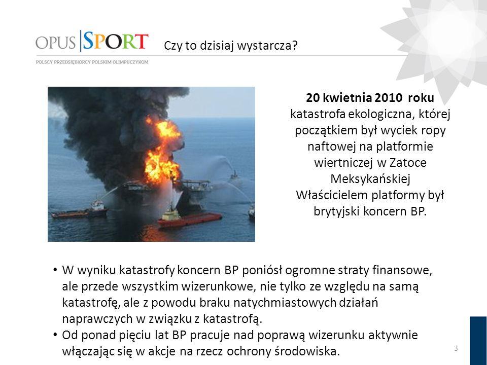 Czy to dzisiaj wystarcza? 3 20 kwietnia 2010 roku katastrofa ekologiczna, której początkiem był wyciek ropy naftowej na platformie wiertniczej w Zatoc
