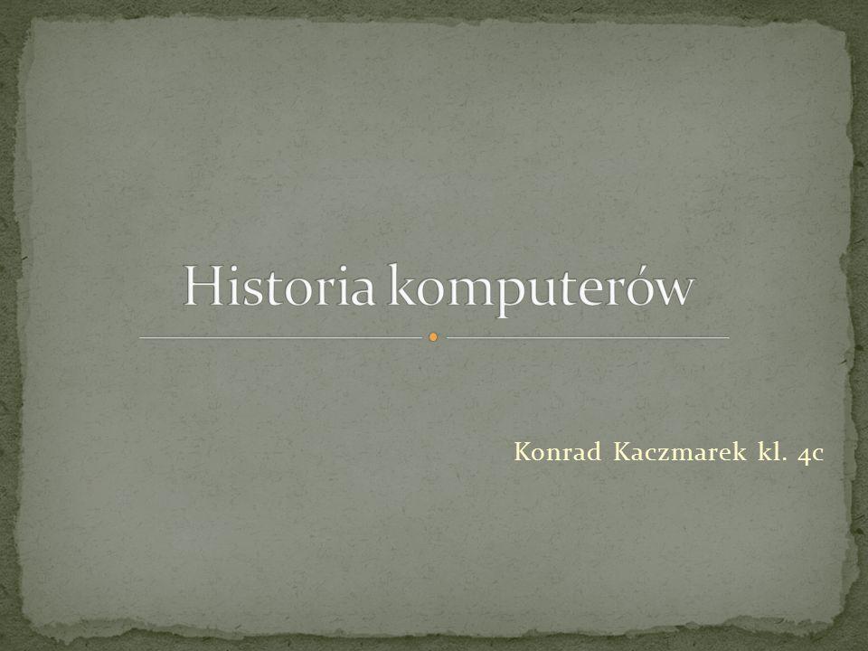 Konrad Kaczmarek kl. 4c