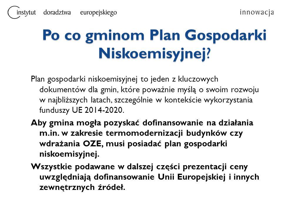 Jak będzie wyglądało opracowanie Planu Gospodarki Niskoemisyjnej.