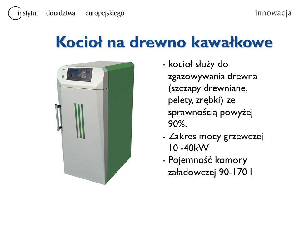 Szacunkowy roczny koszt paliwa (dla kotła o mocy 20 kW) Węgiel – 3 tys.